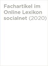 Fachartikel socialnet.de