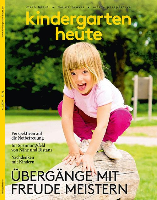 Titel Kindergarten heute 6-7/2020
